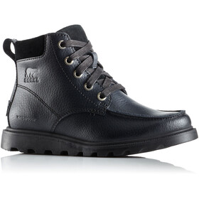 Sorel Madson Moc Toe Waterproof Schuhe Kinder black/black